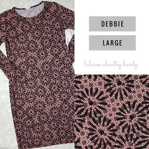 BNWT Large LuLaroe Debbie Dress